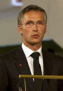 رئيس الوزراء ينس ستولتنبرغ (ا ب)