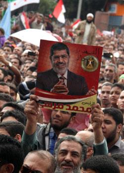 عقدت الرئاسة المصرية اجتماعات مكوكية خلال 24 ساعة (أحمد محمود ــ أ ف ب)