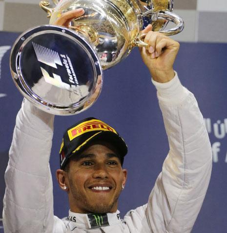 كسر هاميلتون إحتكار فيتيل لبطولة الفورمولا 1