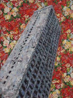 برج المر (اكليريك على كانفاس، cm150x200)