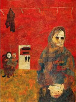 «زوجات عمال المناجم» للأميركي بن شان (1948)