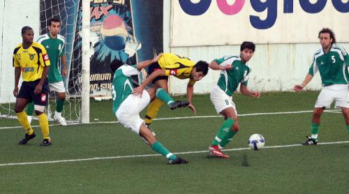 من لقاء الحكمة والصفاء في ذهاب بطولة كرة القدم (بلال جاويش)