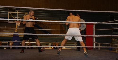 لقطة من المنافسات