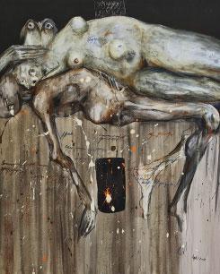 من سلسلة «كارثة» للمغربي عبد الرحيم العقبي