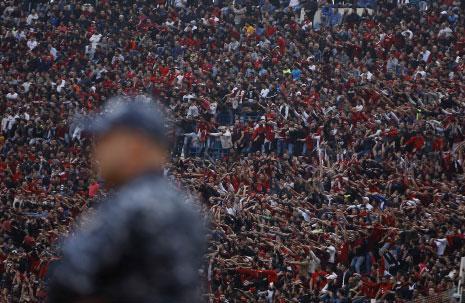 تخطّى عدد الحضور الـ18 ألفاً بينهم أكثر من 14 ألف نجماوي (تصوير مروان طحطح)