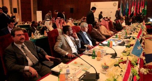 لقطة عامة للمؤتمرين (هيثم الموسوي)