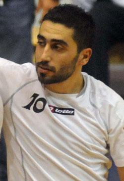مهاجم الصداقة العراقي مروان زورا (أرشيف)