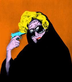 من سلسلة «تحت العيون الشرقية» للفوتوغرافية الإيرانية هدى افشار