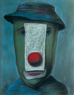 «من دون عنوان» للبولندي ستاسيز إيدريغافيشوس (باستيل على ورق ــ 2011)