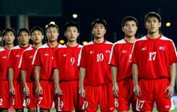 منتخب كوريا الشمالية قبل المونديال (أرشيف)