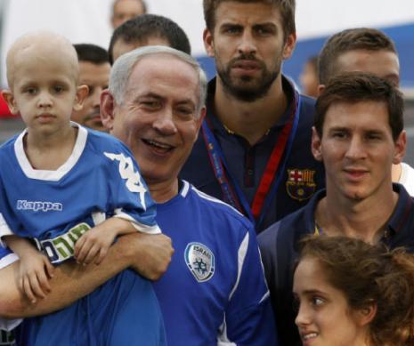 زيارة برشلونة مكسب للسياسيين الاسرائيليين (أ ف ب)
