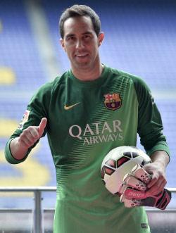 برافو بزيّ برشلونة (جوسيب لاغو - أ ف ب)