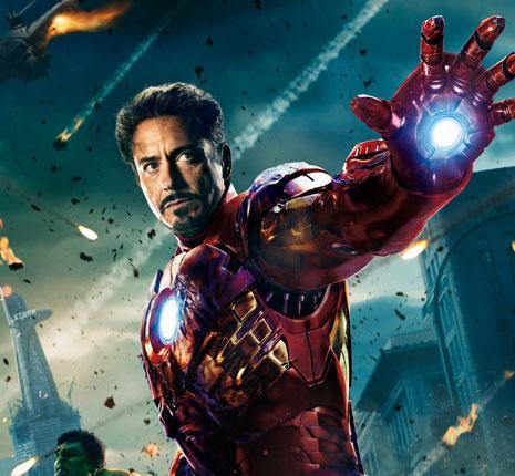 روبرت داوني جونيور في The Avengers