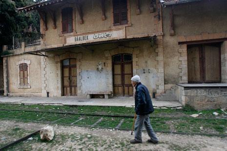 محطة بعلبك كانت داخل غيضة من أشجار الحور (مروان طحطح)