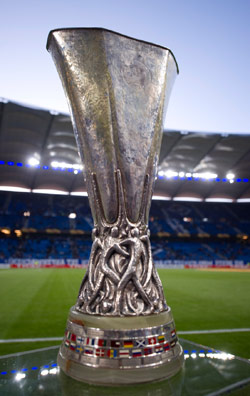 من سيحمل كأس «يوروبا ليغ»: فولام أم أتلتيكو مدريد؟ (أ ب)
