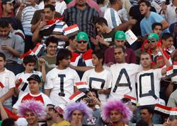 الجمهور العراقي ينتظر ولادة اتحاد جديد (أرشيف ـ عدنان الحاج علي)