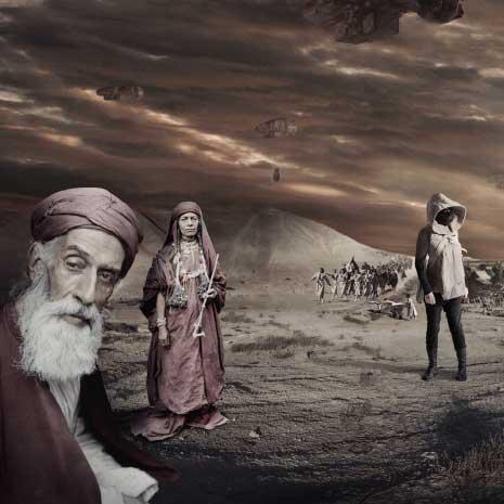 من فيلم لاريسا صنصور «في المستقبل، أكلوا من أفخر أنواع البورسلين» الذي ينتقد محاولات اسرائيل محو هوية فلسطين أرضاً وشعباً
