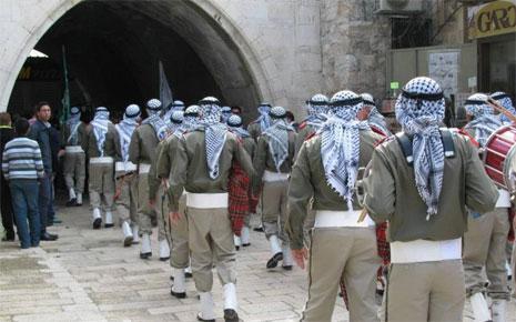 كشافة هلال القدس- الاحتفال بالمولد النبوي-2013