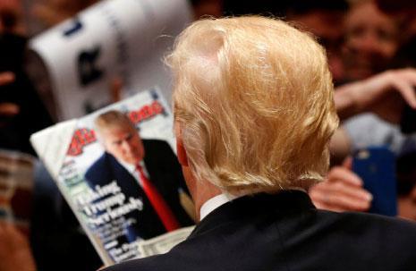 بعد جدل كبير، ضمن المرشّح الجمهوري دونالد ترامب الوصول إلى البيت الأبيض. (لوسي نيكولسون ــ رويترز)