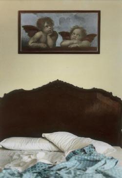 My Time to go للمصري يوسف نبيل (جيلاتين الفضة ملون يدوياً ــ 39 × 52 سنتم ــ 2007)