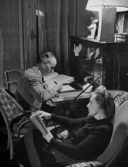 لويس أراغون وإلسا (1946)