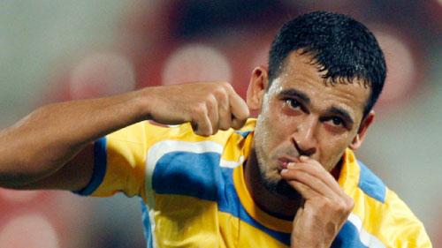 لاعب الغرافة يونس محمود (فادي الأسعد ـ رويترز)