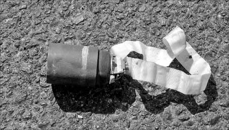 قنبلة عنقودية في النبطية (كامل جابر)