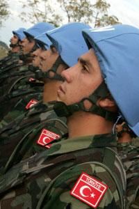 جنود أتراك في الجنوب (أ ف ب)